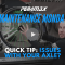 Maintenance Monday: Quick Axle Tip