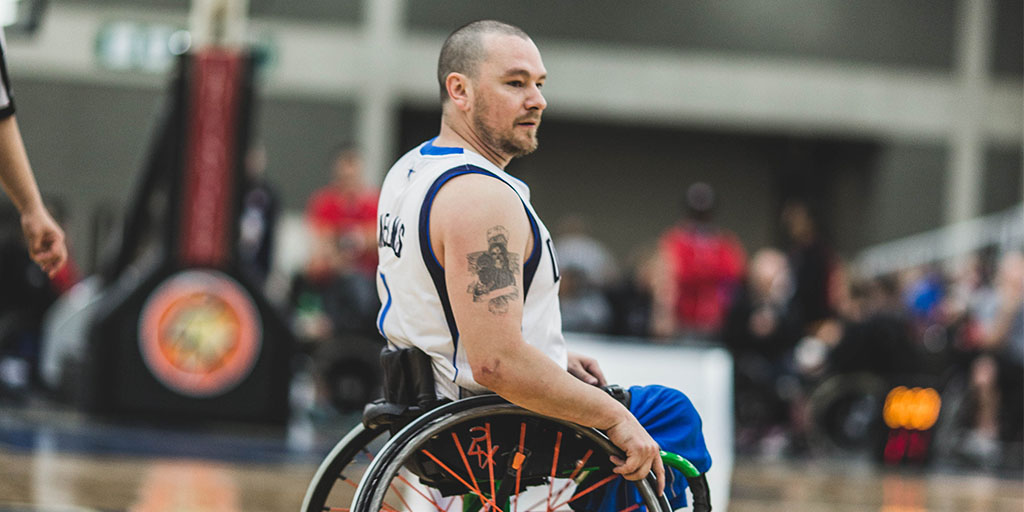 Jason Nelms Wheelchair Basketball Paralympian