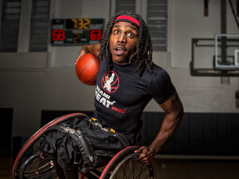 Jeremie Phenom Thomas Wheelchair Rapper