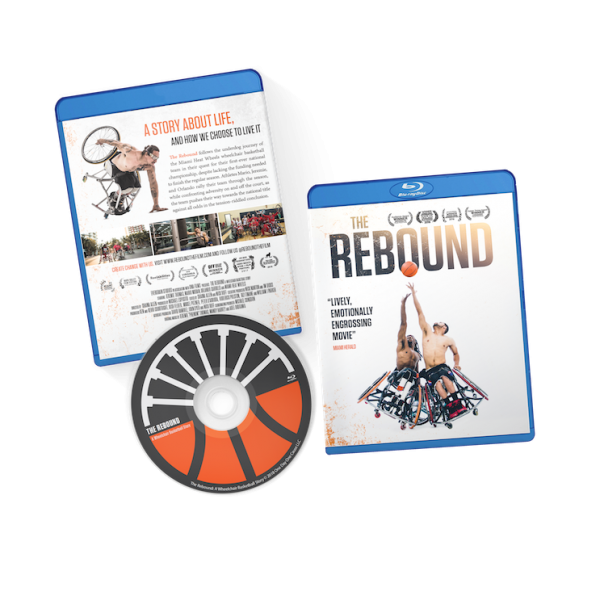 TheRebound Wheelchair basketball documentary Blu-ray disc